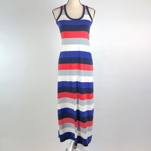 Gap Stripe XS  Sleeveless Maxi Dress